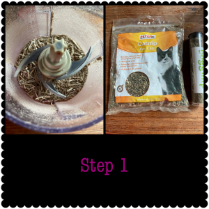 DIY Catnip Toys Step 1
